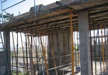 Forjado techo casetón Portal 4