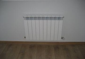 Colocación radiadores